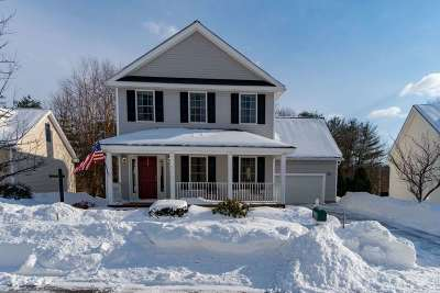 Merrimack Single Family Home Active Under Contract: 7 Monadnock Lane