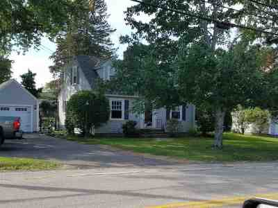 Somersworth Single Family Home Active Under Contract: 96 West High St. Street