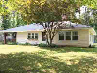 Lee Single Family Home For Sale: 53 Mast Road