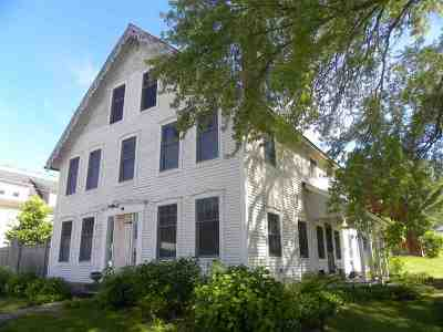 Caledonia County Single Family Home For Sale: 444 Vt Route 114