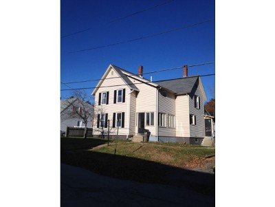 Concord NH Single Family Home Active Under Contract: $199,900