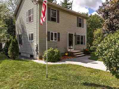 Merrimack Single Family Home For Sale: 1 1/2 Edward Lane