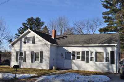 Hudson Single Family Home Active Under Contract: 18 B Street