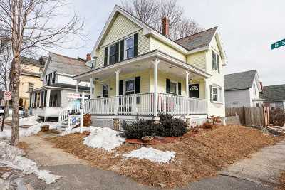 Manchester Single Family Home For Sale: 42 B Street