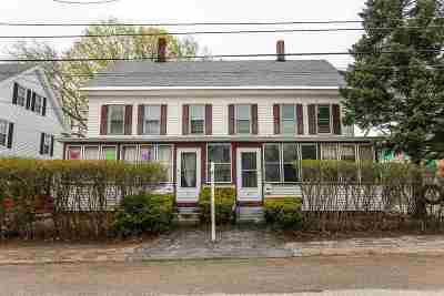 Merrimack County Multi Family Home For Sale: 29 & 31 Elkins Street