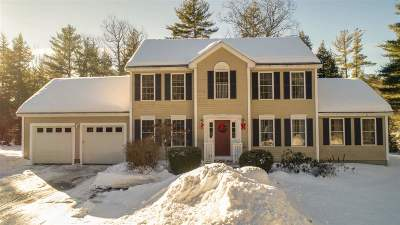 New Boston Single Family Home For Sale: 590 Bedford Road