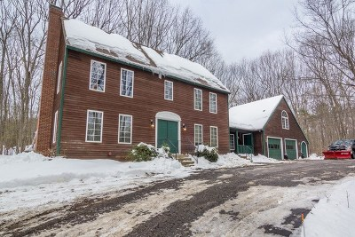 Strafford County Single Family Home For Sale: 14 Stanley Pond Drive