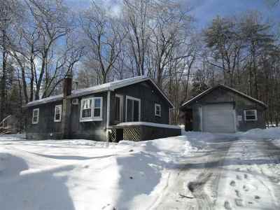 Meredith Single Family Home For Sale: 11 Chemung Road
