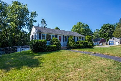 Somersworth Single Family Home Active Under Contract: 2 Daniel Street