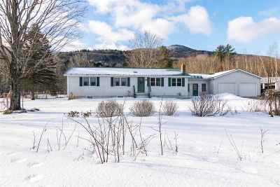 Cambridge Single Family Home Active Under Contract: 9552 Vt Route 15 Highway