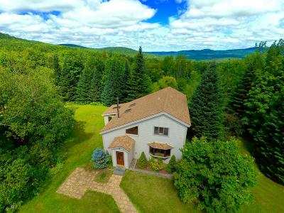 Berkshire, Montgomery, Richford Single Family Home For Sale: 3084 Hazen's Notch Road