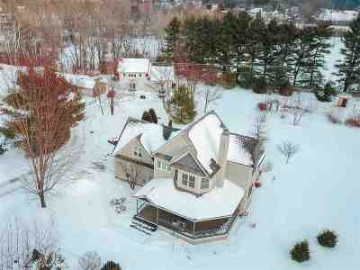 Williston Single Family Home Active Under Contract: 1246-1250 Sunset Hill Road