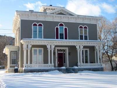 West Rutland Condo/Townhouse For Sale: 50 Clarendon Avenue #2