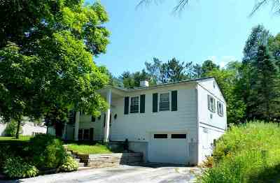 Rutland City VT Single Family Home Active Under Contract: $129,900