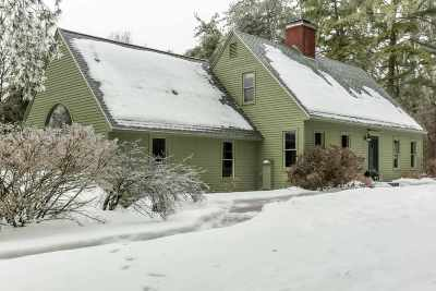 Merrimack County Single Family Home Active Under Contract: 629 Penacook Road