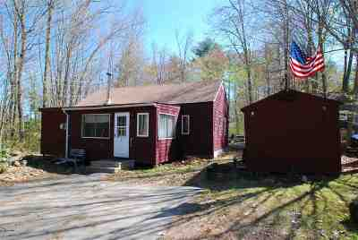 Belknap County Single Family Home For Sale: 9 Musket Trail