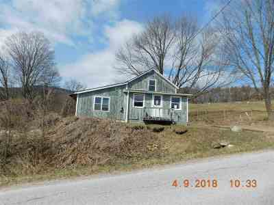 West Rutland Single Family Home For Sale: 4067 Whipple Hollow Road