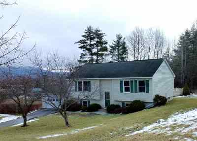 Rutland City VT Single Family Home For Sale: $189,000