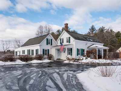 Dover Single Family Home Active Under Contract: 36 Old Rochester Road