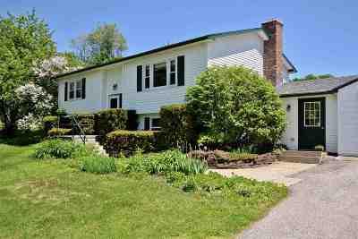 Waterbury Single Family Home For Sale: 3682 Waterbury-Stowe Road