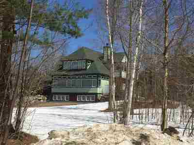 Waterville Valley Single Family Home For Sale: 11 River Road