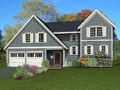 Single Family Home For Sale: Lot K Sewall Meadow #Lot K