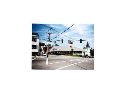 Hillsborough Commercial For Sale: 3 School St/Rt 9 Square