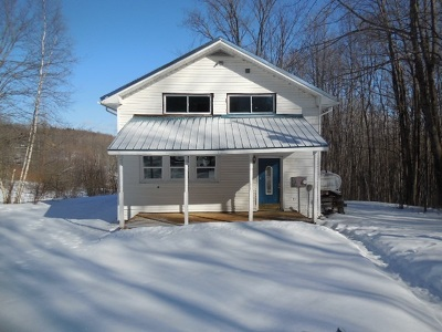 Berkshire, Montgomery, Richford Single Family Home For Sale: 1251 W Hill Road