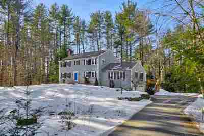 Amherst Single Family Home Active Under Contract: 14 Old Coach Lane