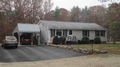 Pembroke Single Family Home Active Under Contract: 474 4th Range Road
