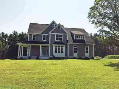 Hollis Single Family Home For Sale: Lot#3 Snow Lane