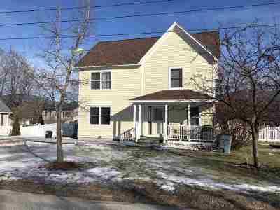 Rutland City VT Single Family Home For Sale: $229,000