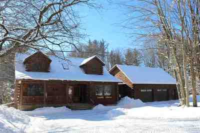 Sheldon VT Single Family Home Active Under Contract: $360,000