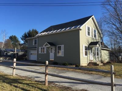 Rutland City VT Single Family Home For Sale: $182,000