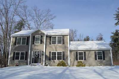 Hooksett Single Family Home Active Under Contract: 1274 Smyth Road
