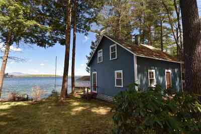 Belknap County Single Family Home For Sale: 187 Dockham Shore Road