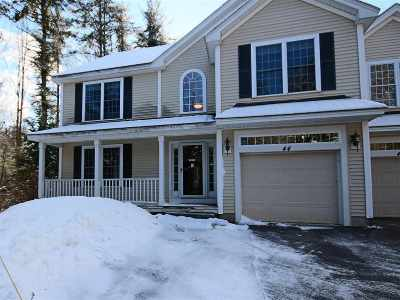 Belknap County, Carroll County, Cheshire County, Coos County, Grafton County, Hillsborough County, Merrimack County, Rockingham County, Strafford County, Sullivan County Condo/Townhouse For Sale: 44 Pineo Farms Road #44