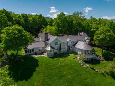 Stowe, Chelsea, Randolph, Barre City, Barre Town, Berlin, Cabot, Calais, Duxbury, East Montpelier, Fayston, Marshfield, Middlesex, Montpelier, Moretown, Northfield, Plainfield, Roxbury, Waitsfield, Warren, Waterbury, Woodbury, Worcester Single Family Home For Sale: 1097 Taber Ridge Road