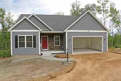 Bradford Single Family Home For Sale: Lot 1-A North Ridge Road #1