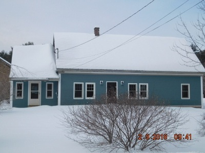 Thornton Single Family Home For Sale: 75 Mad River Road