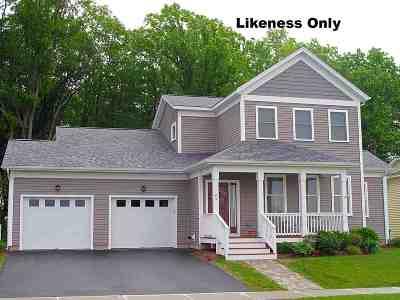 South Burlington Single Family Home For Sale: 21 Chipman Street #5E