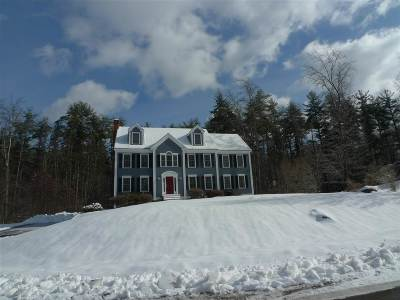 Exeter Single Family Home Active Under Contract: 4 Blackford Drive