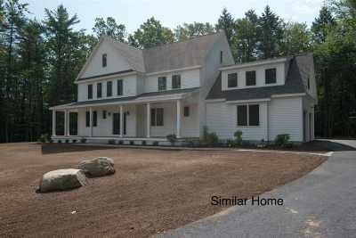 Stratham Single Family Home For Sale: Lot 4 Murphy Lane #4