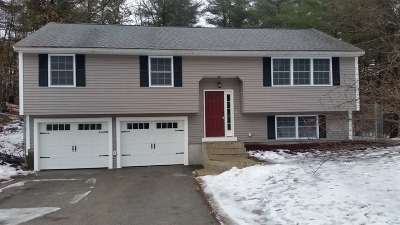 Nashua Single Family Home Active Under Contract: 15 Pioneer Drive