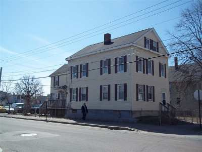 Manchester Multi Family Home For Sale: 209 Central Street