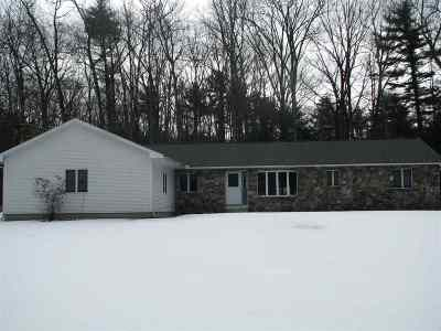 Amherst Single Family Home For Sale: 1 Old Milford Road