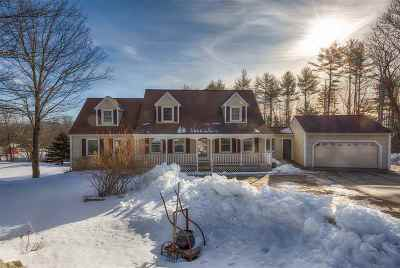 Epsom Single Family Home Active Under Contract: 95 Martin Hill Road