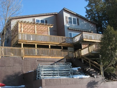 Single Family Home For Sale: 306 Potash Bay Road