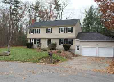 Nashua NH Single Family Home For Sale: $359,900