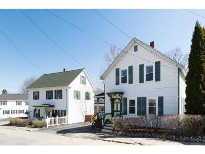 Somersworth Multi Family Home Active Under Contract: 72-76 Union Street